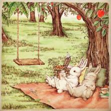 うさぎのピクニック