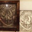 「森の守護者」切り絵1