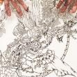 切り絵「クローバーの女王」3