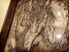 「森の守護者」切り絵2