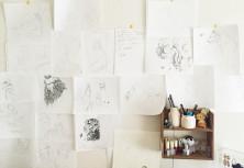 絵描きの部屋