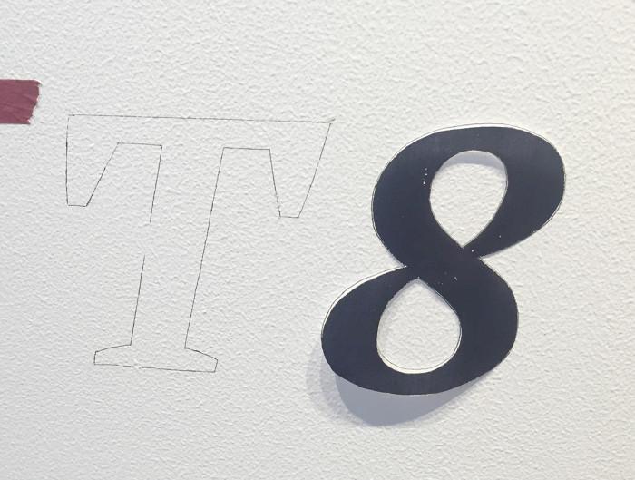 「T8SteakHouse」壁画制作